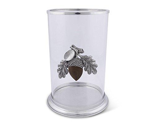 (Vagabond House Large Acorn Pillar Candle Holder 10