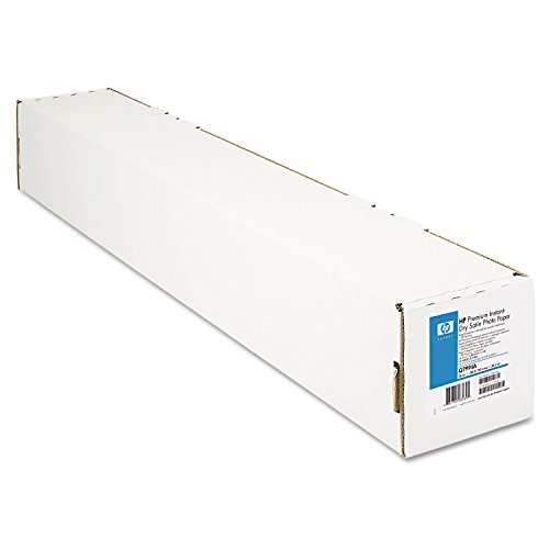 Hp 5000 Plotter (HP Premium Instant-Dry Satin Photo Paper (36 Inches x 100 Feet Roll))