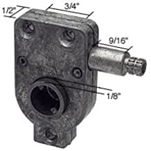 "Right Hand RV Window Torque Operator 3/4"" Screw Holes"