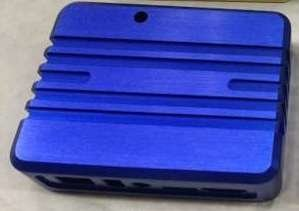 XU4 Aluminum Cooling Case - Blue by ameriDroid