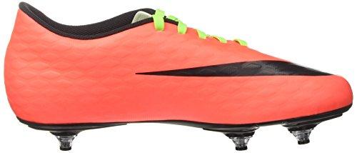 Nike Hypervenom Phade Iii Sg, Zapatillas de Fútbol para Hombre Verde (Electric Green / Black-Hyper Orange-Volt)
