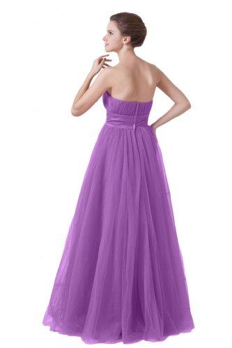 una da Viola vestito Sunvary Tulle Sweetheart lungo sera Fashion linea UxBaT5wOq