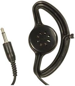 SoundLAB Ecouteur Mono Soundlab avec Clip Cordon de 1,50m et Jack M/âle 3.5mm