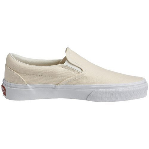 Blanco On Unisex Adulto Classic White Slip Vans Wht Zapatillas w1OxY