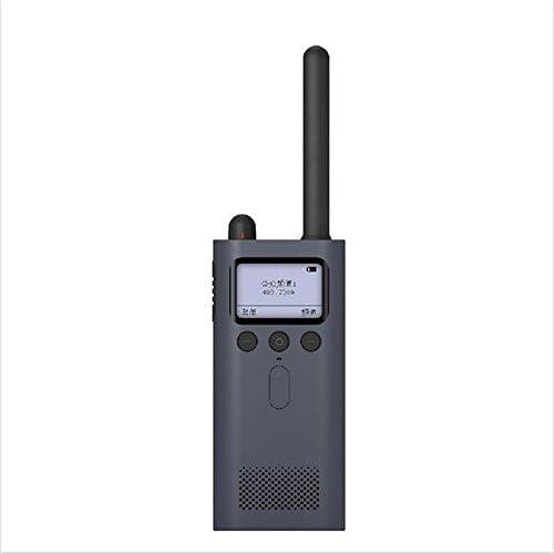 Original Xiaomi Mijia Smart walkie Talkie with FM Radio Smartphone APP Location Share Fast Team Talk Build 8 Days Standby Two Way radios Black