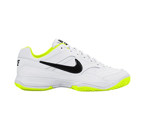 Nike Wmns Court Lite, Zapatillas de Tenis Para Mujer Blanco (Blanco (white/black-volt))