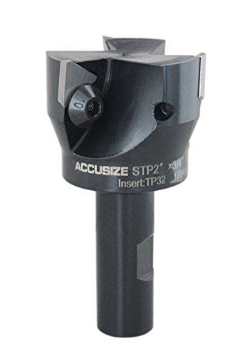 Accusize - 2'' x 3/4'' Indexable End Mills, #0046-0914 (2 Mill End X)