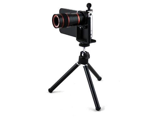 Kit avec trépied Case / étui pour 5.5inch Apple iPhone 6 Plus Apexel 8x Zoom optique télescope lentille