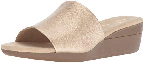 Aerosoles Women's Sunflower Slide Sandal, Gold