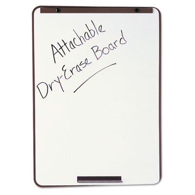 Oval Dry-Erase Board, 29 x 40, Metallic Bronze Finish Steel, Framed, Sold as 1 (Oval Dry Erase Board)