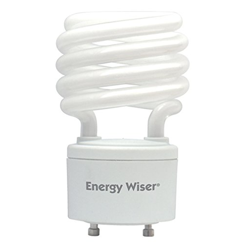 (Pack of 6) Bulbrite 509709 CF23WW/GU24/E 23W Energy Wiser Compact Fluorescent T3 Coil, Twist and Lock GU24 Base, 100W Equivalent, Warm White