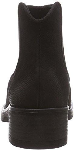 MENTOR Mentor Damen Chelsea Boots Schwarz (Black Nubuck)