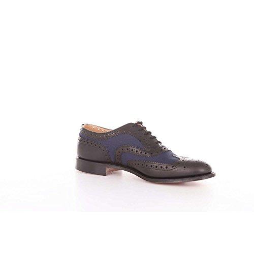 Classic Schuhe Und BURWOODHEEB063 Schwarz Harren Blau Churchs 5qw01EA0x