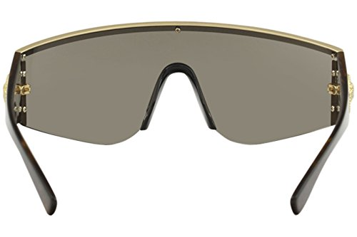 GOLD BROWN COLLECTION VE de Sol unisex Gafas HAVANA 2197 TRIBUTE GOLD Versace SwZqgv