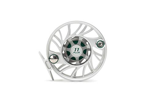 Hatch 11 Plus Gen 2 Finatic Fly Reel, Clear/Green, Mid Arbor