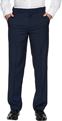 Dockers Men's Straight Fit Stretch Dress Pants Blue 38 34 34
