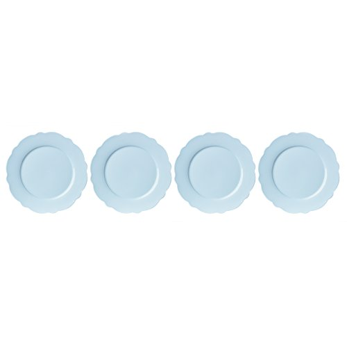 Lenox Butterfly Meadow Solid Blue Dinner Plates (Set of (Lenox Blue Plate)
