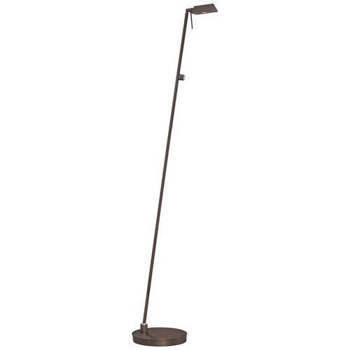 George Kovacs Copper Bronze Tented LED Pharmacy Floor Lamp