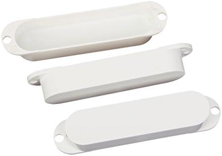 3個入れ プラスチック シングルコイル ピックアップカバー エレキギター用 高品質