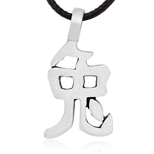 Namaste Jewelers Chinese Zodiac Rabbit Character Pendant Necklace Pewter Jewelry