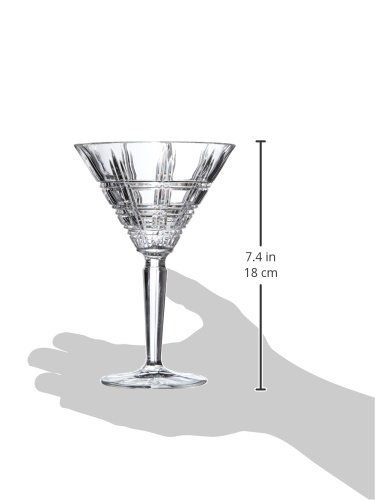 Marquis by Waterford Crosby Martini, Set of 2 2 Marquis by Waterford Crosby Collection Made from Genuine Crystal 7 ounce Capacity