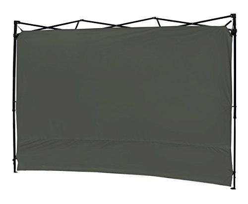 10'x10' Instant Canopy Sidewall Sunwall Grey