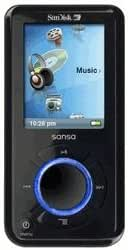 SanDisk Sansa e250 2Gb MP3 Player with Radio