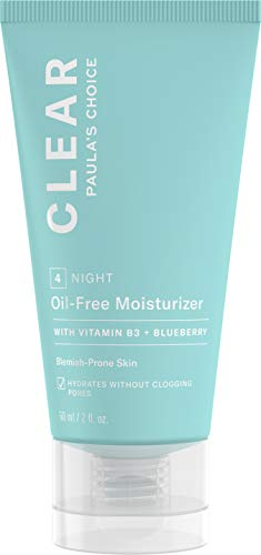 Paula's Choice CLEAR Oil-Free Moisturizer, Lightweight Face Moisturizer for Acne-Prone Skin, Pore-Minimizing Niacinamide, Soothing Antioxidants, Ceramides to Calm Redness