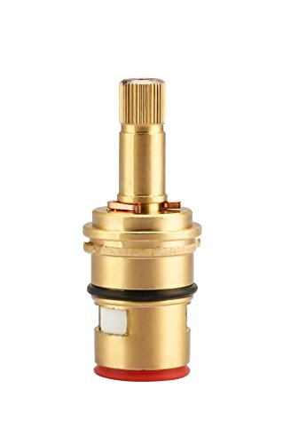 Replacement Brass Ceramic Disc Cartridge For Danze Two Handle Faucet Valve, K507071W Hot Side by Kelica