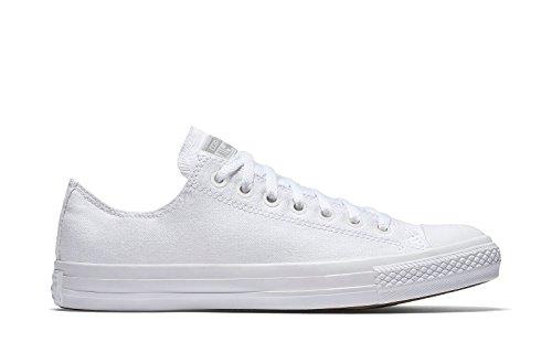 Converse All Star Ox Homme Baskets Mode Blanc Blanc
