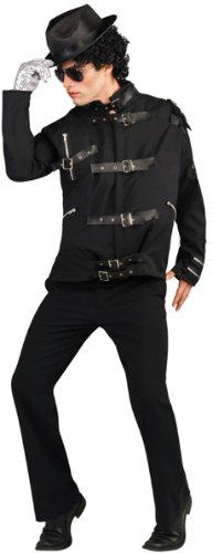 [Deluxe Michael Jackson Jacket Costume - Large - Chest Size 46] (Michael Jackson Billie Jean Costumes)