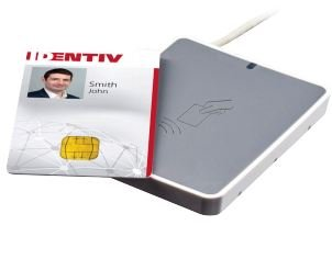 Utrust Identiv 3700 F Contactless Smart Card Reader