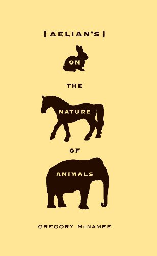 Aelian's On the Nature of Animals
