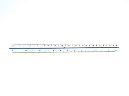 Westcott e-10161 00 r/éduction pour /écolier en plastique 30 cm blanc