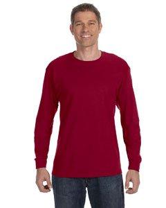 Gildan Mens 5.3 oz. Heavy Cotton Long-Sleeve T-Shirt G540 -ROYAL 3XL