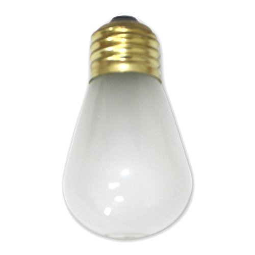 String Light Company BULB3507F Frosted A19 String Light Bulb with E26 Base, 11-Watt (Pack of 7)