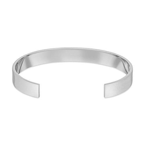 Arque - Bracelet - Argent plaqué rhodium 925 - 14.6 cm - CUS-A239L