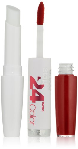 Maybelline New York Super Stay 24, 2-Step Lip Color, Keep Up The Flame 025