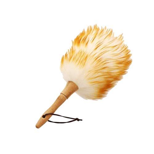 XKMY Stofborstel Dust mijten Borstel huishoudelijke veer reinigingsborstel voor bezem Fans Blinds