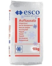 Esco Streusalz Auftausalz Tausalz PVC Sack - Langzeitwirkung (10 kg)