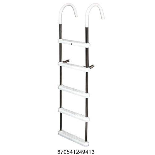 Gunwale Hook Ladder 3 Step - 5 Step Gunwale 11