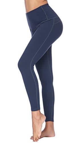 X-Fit Womens High Waist Yoga Pants Compression Workout Leggings(Charcoal09, XS)