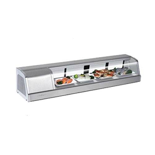 Turbo Air Refrigerated Sushi Case, 60