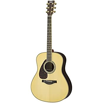 yamaha l series ll16 left handed acoustic electric guitar with gig bag natural. Black Bedroom Furniture Sets. Home Design Ideas