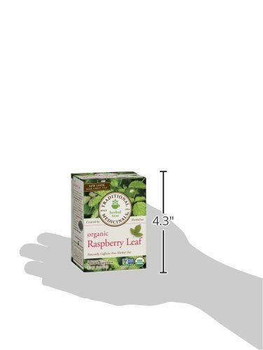 Traditional Medicinals Organic Raspberry Leaf Herbal Tea, 16 Tea Bags (Pack of 6) by Traditional Medicinals (Image #7)