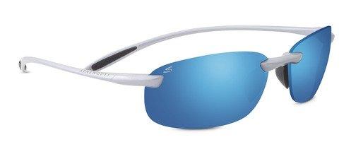 Serengeti 8289 Nuvola, Metallic Silver Frame, Polar PhD 555nm Blue - Sunglasses Nuvola Serengeti