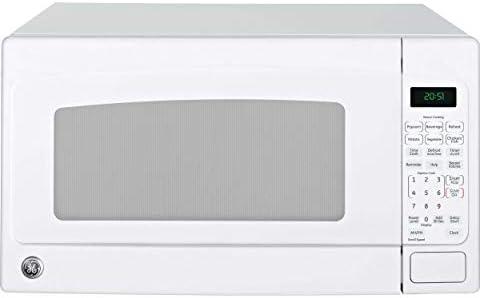 GE 2.0 Cubic Foot Capacity Countertop Microwave, White Renewed