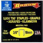 Arrow Fastener 506IP Genuine T50 3/8-Inch Staples, 5,000-Pac