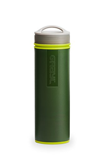 GRAYL Ultralight Water Purifier [+ FILTER] BOTTLE (Green)