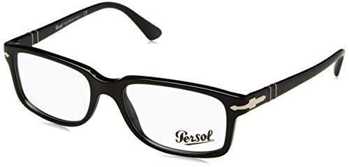 PERSOL Eyeglasses PO 3130V 95 Black 54MM (54 Eyeglasses)
